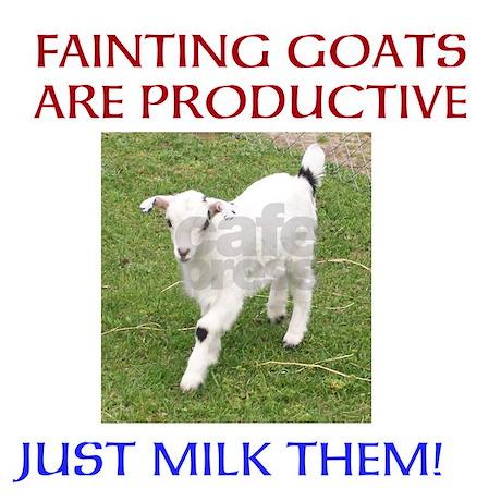 FAINTING GOATS ARE PRODUCTIVE Mugs By FaintingGoatMugs