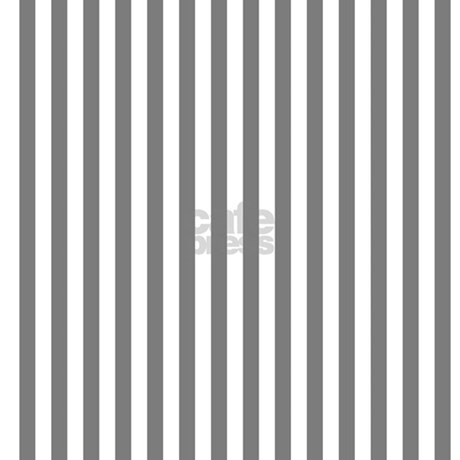 Grey And White Stripes Shower Curtain By GraphicAllusions