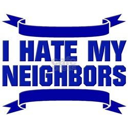 i hate my neighbors magnets i hate my neighbors refrigerator magnets cafepress. Black Bedroom Furniture Sets. Home Design Ideas