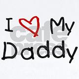 I love daddy Baby Bodysuits