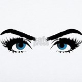 Crazy eyes Wall Decals