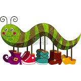 Caterpillar Baby Hats
