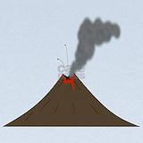 Volcano Baby Hats