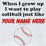 Baby softball Bib