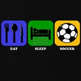 Eat sleep soccer T-shirts