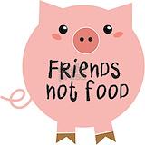 Friend not food Pajamas & Loungewear