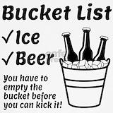 Bucket list beer ice Tank Tops