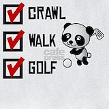 Crawl walk golf Bib