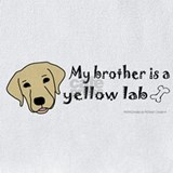 Yellow labs Bib