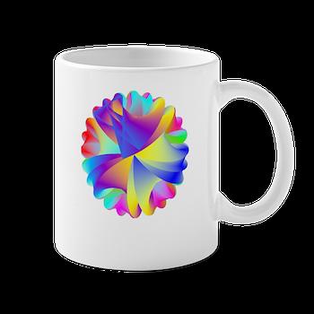 Rainbow Cluster Mugs
