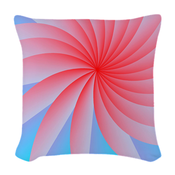 Passionately Pink! Woven Throw Pillow