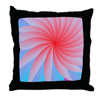 Passionately Pink! Throw Pillow