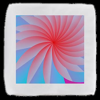 Passionately Pink! Cube Ottoman