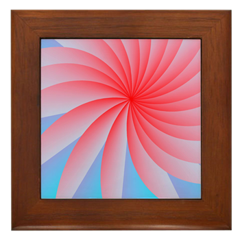 Passionately Pink! Framed Tile
