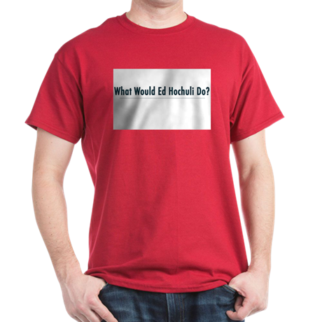 What Would Ed Hochuli Do? Ash Grey T-Shirt
