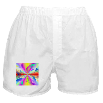 Fractured Fire Flower Flameout Boxer Shorts
