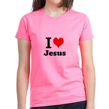 I Heart Jesus Women's Light T-Shirt