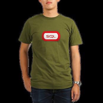 Sql Organic Men's T-Shirt (dark)