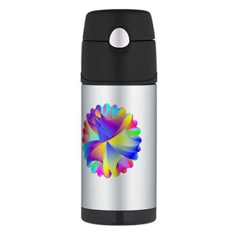 Rainbow Cluster Thermos® Bottle (12oz)