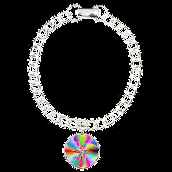 Fractal Fire Flower Bracelet