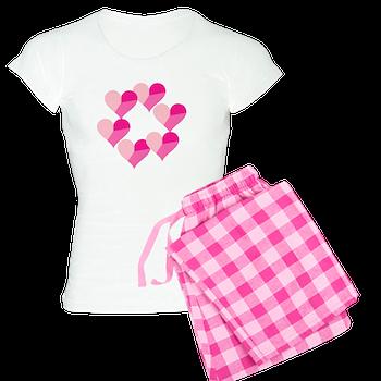 Circle of Candy Hearts Pajamas
