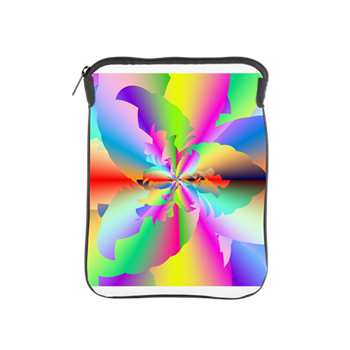 Fractal Fire Flower iPad Sleeve
