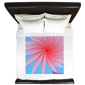 Passionately Pink! King Duvet