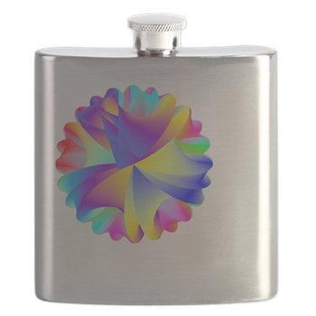 Rainbow Cluster Flask