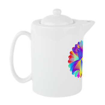 Rainbow Cluster Teapot
