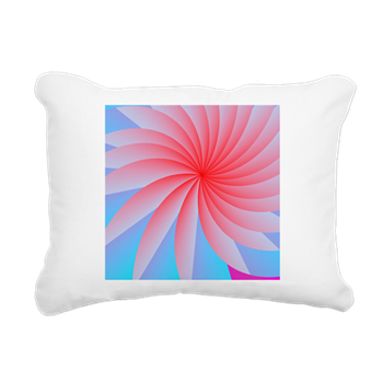 Passionately Pink! Rectangular Canvas Pillow