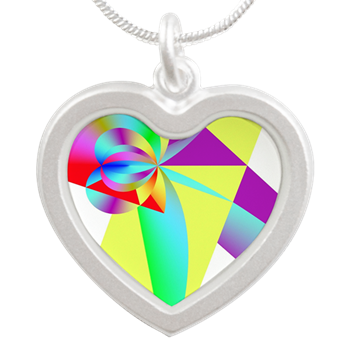Rainbow Bow Necklaces