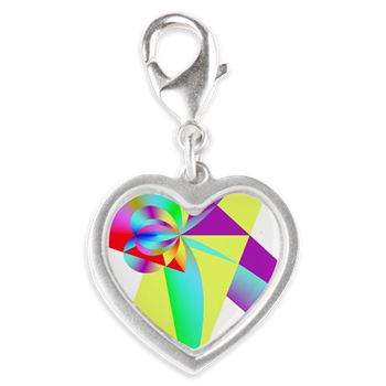 Rainbow Bow Charms
