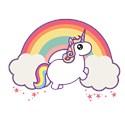 Chubby unicorn Full / Queen