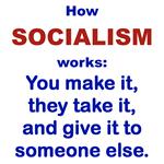 BUMPERSTICKERS SOCIALISM