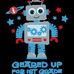 Robot Geared Up 1st Grade