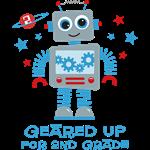 Robot Geared Up 2nd Grade