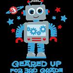 Robot Geared Up 3rd Grade