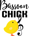 Bassoon Chick Music Gifts