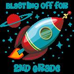 Blast Off For 2nd Grade