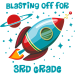 Blast Off For 3rd Grade