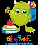 Monster 1st Grade Fun