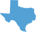 Texas Shape State Outline