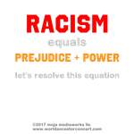 WAV - Racism=Prej+Power