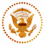 Gold Presidential Seal
