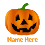 Customized Pumpkin Jack O Lantern