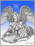 Angel, Lion & Lamb ~ Peace on Earth