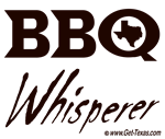 BBQ Whisperer Brown Text