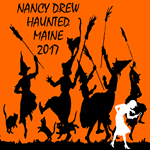 Nancy Drew Haunted Maine Convention Silhouettes