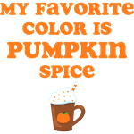 Favorite Color Pumpkin Spice