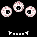 Three-Eyed Monster Costume